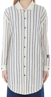 Barrie Striped Oversized Shirt
