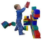 Serec Entertainment Kids Adventure Jumbo Blocks Standard Set - 96 Piece