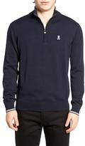Psycho Bunny Quarter Zip Sweater