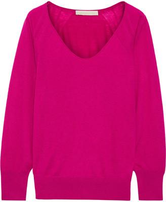 Vanessa Bruno Wool, Cashmere And Silk-blend Sweater