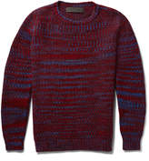 The Elder Statesman Malta Mélange Cashmere Sweater