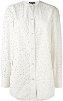 Salvatore Ferragamo cut-out shirt - women - Cotton - 38