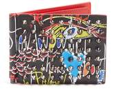 Christian Louboutin Clipsos spike-embellished leather wallet