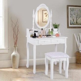 Dressing Tables With Mirror And Stool Shop The World S Largest Collection Of Fashion Shopstyle