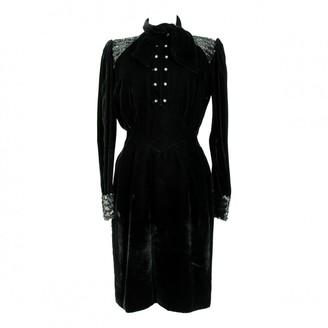 Ungaro Black Silk Dress for Women Vintage
