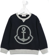 Moncler anchor detail sweatshirt