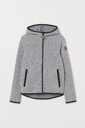 H&M Knitted fleece jacket