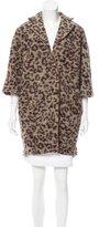 Thakoon Leopard Print Coat