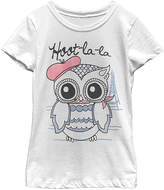 Fifth Sun White 'Hoot-La-La' Tee - Toddlers & Girls