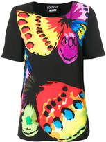 Moschino butterfly print T-shirt