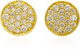 Ila 14K Gold Diamond Earrings