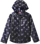 Joe Fresh Kid Girls' All Over Print Jacket, Navy (Size M)