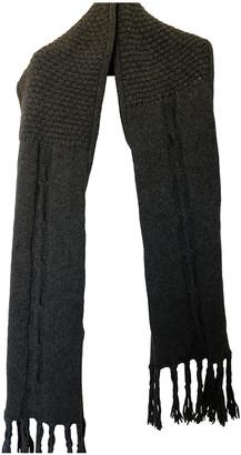 McQ Grey Wool Scarves