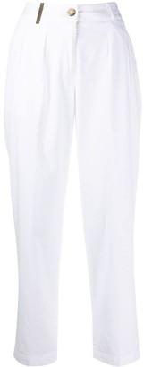 Peserico tailored straight leg trousers