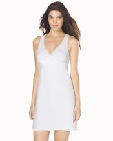Soma Intimates Essential Cotton Blend Chemise White