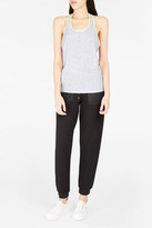 Monreal London Racer-Back Perforated Tank Top