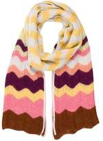 Missoni Multicolor Chevron Scarf