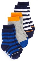 Infant Boy's Robeez Assorted 3-Pack Socks