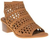 Sole New Womens Tan Billie Synthetic Sandals Gladiators Elasticated