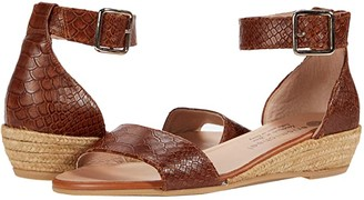 Eric Michael Julia (Tan Croco) Women's Shoes