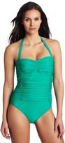 Shoshanna Women's Ruched One Piece Swimwear