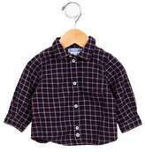 Jacadi Boys' Checkered Button-Up Shirt
