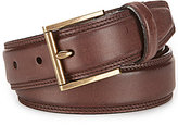 Cole Haan Tyler Pressed Edge Leather Belt