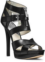 Michael Kors Anya Leather Platform Sandal