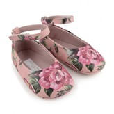 Dolce & Gabbana Dolce & GabbanaBaby Girls Pink Rose Pre Walkers