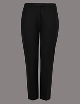 Autograph PLUS Wool Blend Tapered Leg Trousers