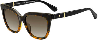 Kate Spade Kahli Two-Tone Acetate Sunglasses