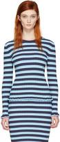 Altuzarra Blue Striped Chandler Pullover