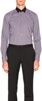 Lanvin Contrast Collar Shirt