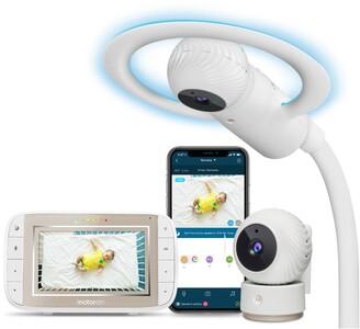 Motorola Halo+ Deluxe Video Baby Monitor Set
