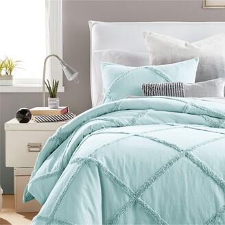 Peri Home Kids Chenille Lattice Comforter & Sham Set
