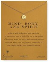 "Dogeared Mind, Body & Spirit Pendant Necklace, 18"""