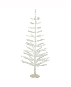 Vickerman 5' Silver Feather Artificial Christmas Tree Unlit
