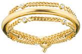 Vita Fede Luna Crystal Chain Wrap Bracelet