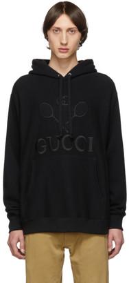 Gucci Black Tennis Club Hoodie