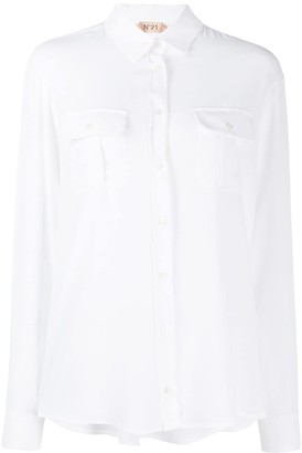 No.21 relaxed fit shirt
