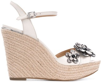 MICHAEL Michael Kors Floral wedge sandals