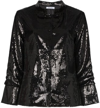 Deitas China sequin-embellished jacket