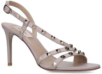 Valentino Garavani Leather Rockstud Sandals 85