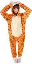 EkarLam® EkarLam Adult Anime Hoody Halloween Suit Cosplay One piece Pajamas Jumpsuit Tag L