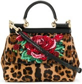 Dolce & Gabbana Sicily Leo & Rose top-handle bag