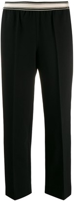 Bellerose Creased Cropped Trousers