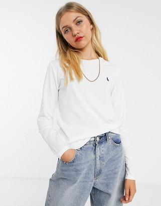 Polo Ralph Lauren long sleeve t-shirt in white
