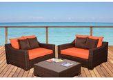 Atlantic Lexington Orange 3-piece Deep Seating Set