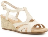 Aerosoles Outer Space Snake-Embossed Wedge Sandal