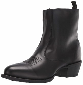 Laredo 62070 Fletcher Men's Black Boot with Side Zipper 9.5 EW